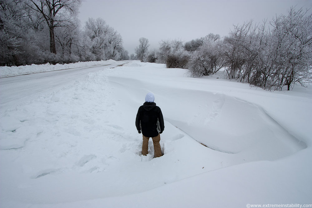 2009 2010 winter rime ice twice deep snow ice storm optics