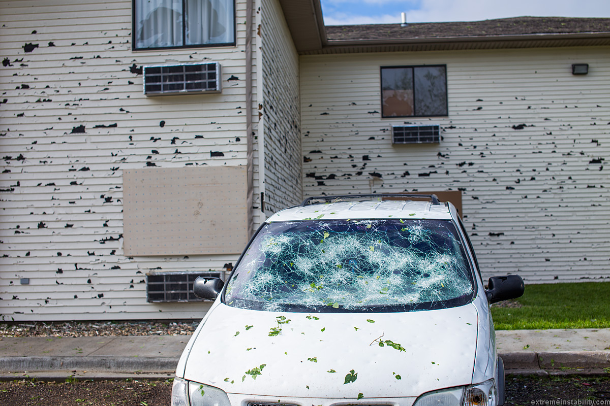 Woodhouse Hail Damage >> June 3, 2014 Norfolk to Blair Nebraska Insane Hail Storm