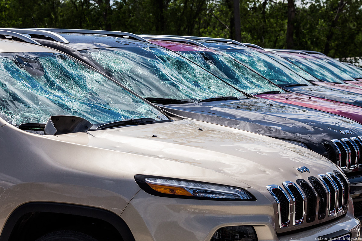Hail Damage On Cars For Sale